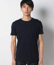 SISLEY/コットンラウンドネックコントラスト半袖Tシャツ・カットソー/503287529