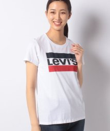LEVI'S LADY/THE PERFECT TEE SPORTSWEAR LOGO WHITE GR/503291624
