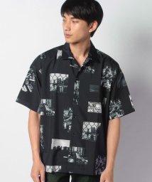 STYLEBLOCK/総柄プリント半袖ビッグシャツ/503292624