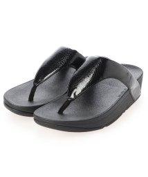 FITFLOP/フィットフロップ fitflop LOTTIE IRIDESCENT SCALE TOE-THONGS (All Black)/503303171