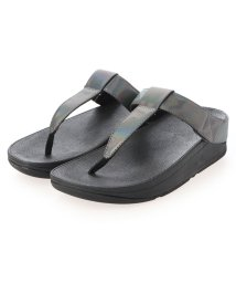 FITFLOP/フィットフロップ fitflop MINA IRIDESCENT TOE-THONGS (All Black)/503303175