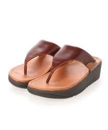 FITFLOP/フィットフロップ fitflop MYLA LEATHER TOE-THONGS (Chocolate Brown mix)/503308482
