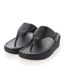 FITFLOP/フィットフロップ fitflop MYLA LEATHER TOE-THONGS (All Black)/503308485