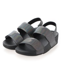 FITFLOP/フィットフロップ fitflop MINA IRIDESCENT BACK-STRAP SANDALS (All Black)/503308486