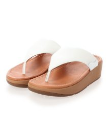 FITFLOP/フィットフロップ fitflop MYLA LEATHER TOE-THONGS (Urban White/Silver)/503308488