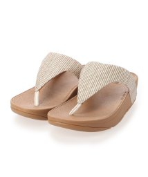 FITFLOP/フィットフロップ fitflop LOTTIE GLITTER STRIPE TOE-THONGS (Stone)/503308489