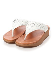 FITFLOP/フィットフロップ fitflop MYLA FLORAL STUD TOE-THONGS (Urban White)/503308496