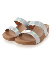 FITFLOP/フィットフロップ fitflop LOTTIE IRIDESCENT SCALE SLIDES (Urban White)/503308497