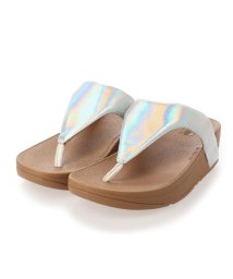 FITFLOP/フィットフロップ fitflop LOTTIE IRIDESCENT SCALE TOE-THONGS (Urban White)/503308499