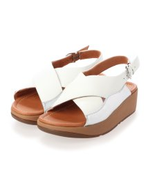 FITFLOP/フィットフロップ fitflop MYLA LEATHER BACK-STRAP SANDALS (Urban White/Silver)/503308500