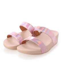 FITFLOP/フィットフロップ fitflop LOTTIE IRIDESCENT SCALE SLIDES (Soft Pink)/503308503