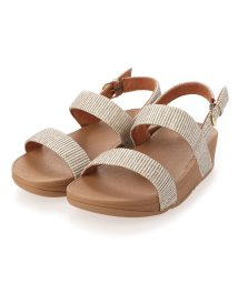 FITFLOP/フィットフロップ fitflop LOTTIE GLITTER STRIPE BACK-STRAP SANDALS (Stone)/503308505