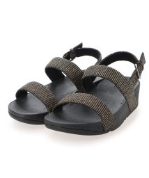 FITFLOP/フィットフロップ fitflop LOTTIE GLITTER STRIPE BACK-STRAP SANDALS (All Black)/503308508