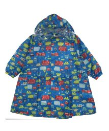 Kids Foret/【子供服】 KidS Foret (キッズフォーレ) 車・恐竜総柄レインコート S~L B81860/503310043