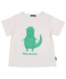 moujonjon/【子供服】 MoujoNjoN (ムージョンジョン) ワニプリント・総柄半袖Tシャツ 80cM~120cM M32844/503310083