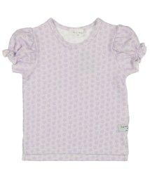 WILL MERY/【子供服】 Will Mery (ウィルメリー) 花柄ジャガードTシャツ 80cM~140cM N42805/503310119