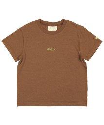 DaddyOhDaddy/【子供服】 Daddy Oh Daddy (ダディオダディ) 日本製ロゴプリントTシャツ 80cM~150cM V32810/503310148