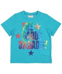 DaddyOhDaddy/【子供服】 Daddy Oh Daddy (ダディオダディ) 日本製タイダイ風プリントTシャツ 80cM~150cM V32820/503310149