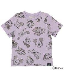DaddyOhDaddy/【子供服】 Daddy Oh Daddy (ダディオダディ) 日本製ディズニーデザイン総柄Tシャツ 80cM~150cM V32861/503310154
