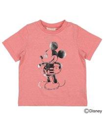 DaddyOhDaddy/【子供服】 Daddy Oh Daddy (ダディオダディ) 日本製ミッキーデザインTシャツ 80cM~150cM V32862/503310155