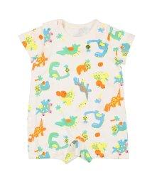 Kids Zoo/【子供服】 kidS zoo (キッズズー) 恐竜総柄Tオール・ロンパース 70cM,80cM W32712/503310162