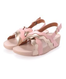 FITFLOP/フィットフロップ fitflop RHYLEE WAVE STRAP BACK-STRAP SANDALS (Soft Pink)/503310309