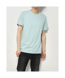 GUESS/ゲス GUESS MEN'S S/SLV TEE SHIRT (MINT)/503310402