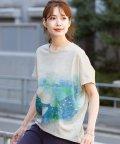 HAPPY EXP/宇宙くじらプリントTシャツ/503315651