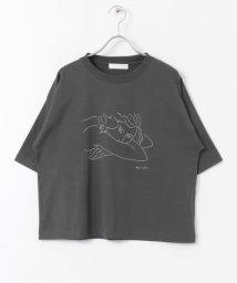 SENSE OF PLACE by URBAN RESEARCH/【別注】ドロップショルダーアートTシャツ/503315688
