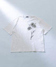 ITEMS URBANRESEARCH/フラワープリント半袖Tシャツ/503315711