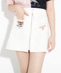 PINK-latte/★ニコラ掲載★クリアポケットシップスカート/503315882