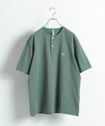 URBAN RESEARCH/【別注】Scye×URBAN RESEARCH Henley Neck Tシャツ/503315953
