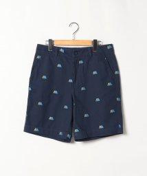 agnes b. HOMME/QI1I PANTALON  SPORT b. テント刺繍ショートパンツ/503290203