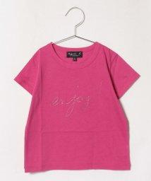 agnes b. ENFANT/SCX2 E TS キッズ メッセージTシャツ/503291342