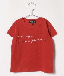 agnes b. ENFANT/SCX6 E TS キッズ メッセージTシャツ/503291345