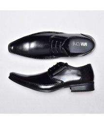 SVEC/スクエアトゥビジネスシューズ ブラック MM/ONE エムエムワン メンズ レースアップシューズ 紐靴 ビジネス シューズ スーツ黒靴Yシャツ スーツ シャツ /503300333