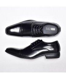 SVEC/ビジネスシューズ メンズ ストレートチップ ブラック MM/ONE エムエムワン レースアップ 新社会人 スーツビジネスフォーマルシューズ Yシャツ スーツ シ/503300337