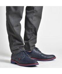 SVEC/レースアップシューズ プレーントゥ メンズ カジュアル シューズ レースアップ 紐 靴 くつ ブラック ネイビー ブラウン 黒紺茶2017 SVEC シュベック/503300454