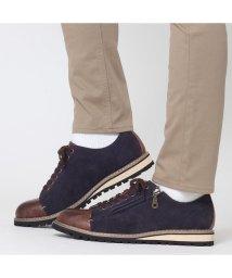SVEC/スニーカー メンズ 履きやすい靴 冬靴 革靴  スエード風 カジュアルシューズ サイドジップ ダービーシューズ オックスフォードシューズ ポストマンシューズ シ/503300458
