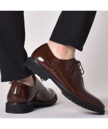 SVEC/オックスフォードシューズ レースアップシューズ プレーントゥ 内羽根 タンクソール コマンドソール メンズ カジュアル ドレスシューズ ビジネスシューズ 靴 く/503300468