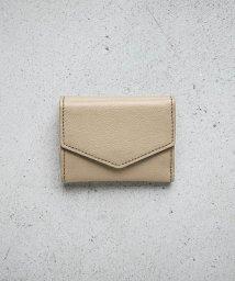 TOPKAPI EFOLE/シュリンクレザー バイカラー 三つ折り ミニ財布/503302710
