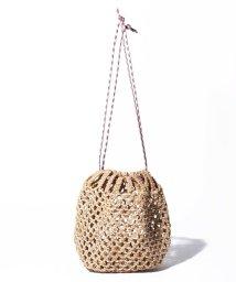 kakatoo /カカトゥ kakatoo / カラーコードサイザル巾着バッグ/503303906