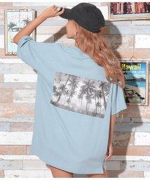 anap mimpi/パームツリーモノクロフォトTシャツ/503316379