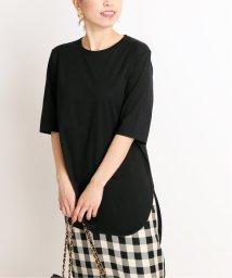 VERMEIL par iena/【ATON/エイトン】ROUND HEM Tシャツ◆/503317445