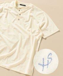 SHIPS MEN/SC:【WEB限定】吸水速乾・UVケア ヘンリーネック Tシャツ/503318979