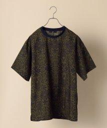 SHIPS MEN/SC: 速乾/接触冷感 フラワープリント Tシャツ/503319069