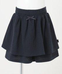 KUMIKYOKU KIDS/【110-140cm】シャーリングピケキュロット/503319231