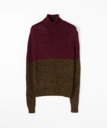 TOMORROWLAND BUYING WEAR/knit brary ウールシルク バイカラーニット/503319253