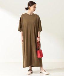 Demi-Luxe BEAMS/【WEB限定】ATON / スビン オーバサイズ ドレス/503319735