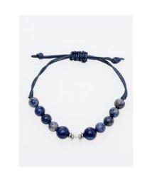 CAYHANE/【チャイハネ】数珠ストリングブレスレット 8mm玉天然石 ブルー/503315468